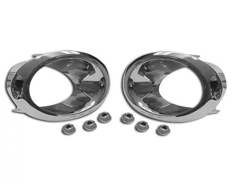 Corvette Exhaust Bezels, 1966-1967