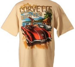 Corvette T-Shirt, C1 Corvette Beach Club