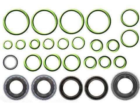 Corvette Air Conditioning O-Ring Seals, 26 Piece Set, 1963-1982