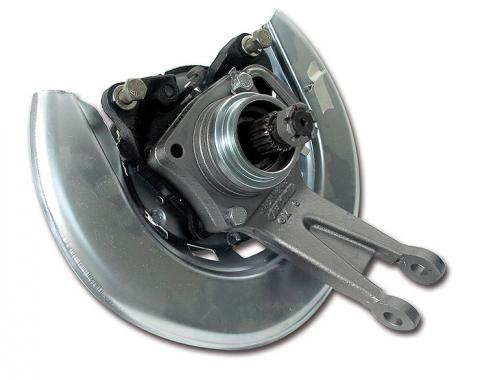 Corvette Rear Wheel Bearing Assembly, Right with Rotor Exch, 1965-1982