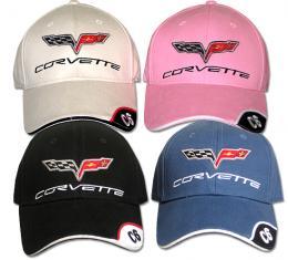 Corvette Cap, with C6 Emblem & Script