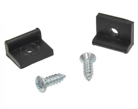 Corvette Gas Door Stops & Screws, 1953-1960
