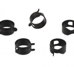 Corvette Coolant Tank Hose Clamp Set, 5 Pieces, 1974-1982