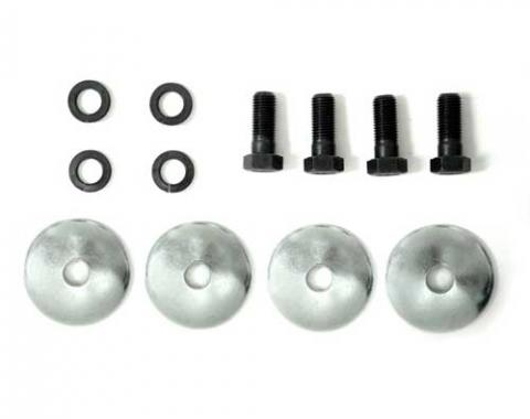 Corvette Lower A-Arm Bushing Retainer Bolts & Lock Washers, 12 Piece Set, 1963-1982
