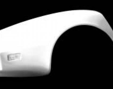 Corvette Rear Quarter Panel, SE, Left, ACI, 1980-1982