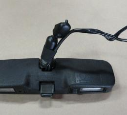 Corvette Rear View Mirror, with Map Light, USED 1986-1989