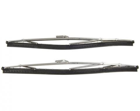 Corvette Windshield Wiper Blades, Reproduction, 1956-1962