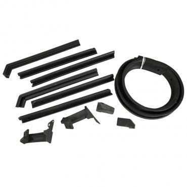 Corvette Convertible Top Weatherstrip Kit, 1956-1958