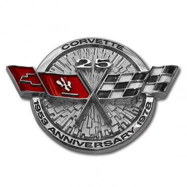 Corvette Gas Door Emblem, 1978