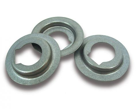 Corvette Storage Compartment Latch Bezels, Rear, 1968-1979 Early