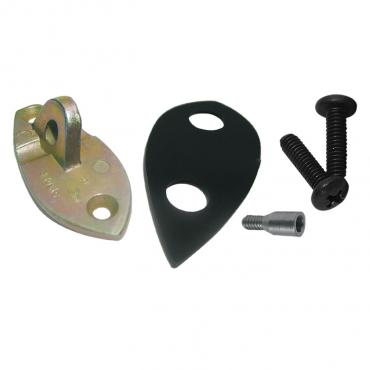 Corvette Mirror Bracket Kit, Outside, 1953-1967