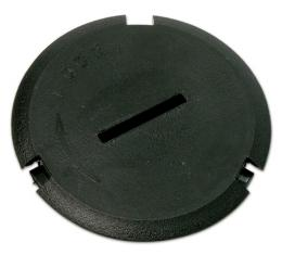 Corvette Headlight Adjusting Hole Plug, Late 1999-2004