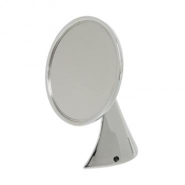 Corvette Mirror, Outside, Chrome, 1953-1967