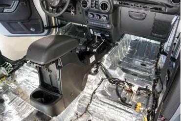 HushMat Jeep Wrangler 2004-2006   Firewall Deadener and Insulation Kit 665262
