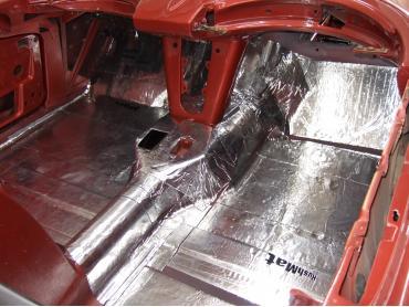 HushMat Fiat 124 1966-1983   Firewall Deadener and Insulation Kit 575012