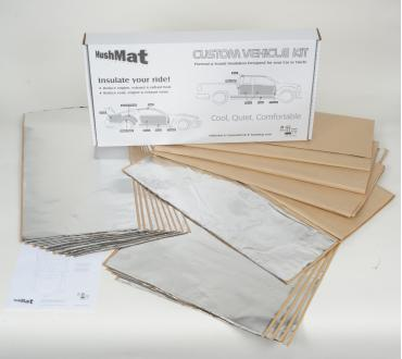 HushMat Chevrolet Bel Air 1955-1957   Sound and Thermal Insulation Kit 62555