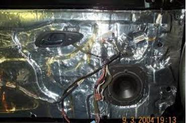 HushMat Volkswagen EuroVan 1993-2003   Firewall Deadener and Insulation Kit 682902