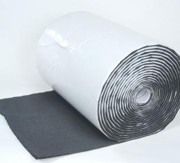 "HushMat 1/ 2"" Silencer Megabond Thermal Insulating Self-Adhesive Foam Bulk Roll - 24"" x50' ea 100 sq ft 22500"