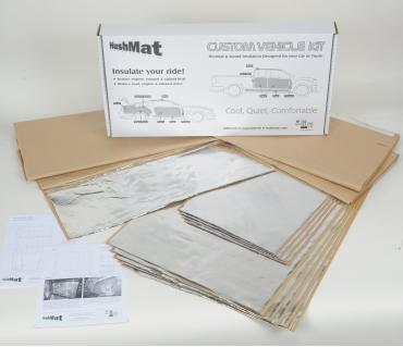 HushMat Ford Mustang 1964-1966   Sound and Thermal Insulation Kit 61264