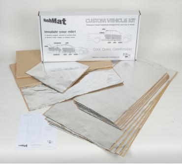 HushMat Dodge Charger 1975-1978   Sound and Thermal Insulation Kit 66273