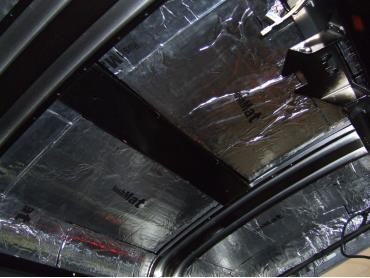HushMat Chevrolet Corvette 2005-2013   Roof Thermal Insulation and Deadener 627835