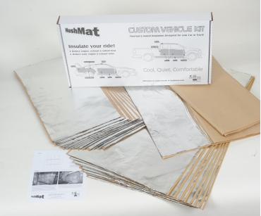 HushMat Porsche 911 1974-1977   Sound and Thermal Insulation Kit 58140