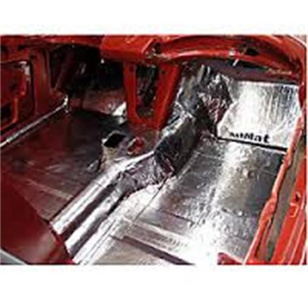 Hushmat 612691 Sound and Thermal Insulation Kit 1969-1970 Mustang Floor