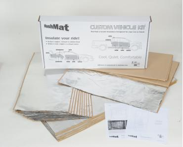 HushMat Fiat 124 1966-1983   Sound and Thermal Insulation Kit 57501