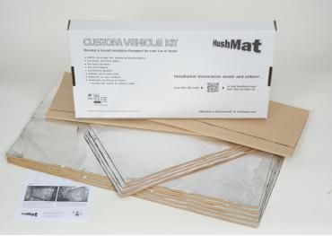 HushMat Plymouth Valiant 1960-1976   Sound and Thermal Insulation Kit 66160