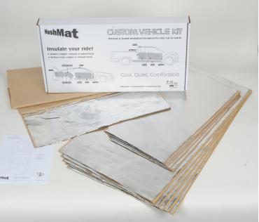 HushMat Honda Accord 1976-1981   Sound and Thermal Insulation Kit 68111