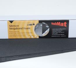 "HushMat Door/Headliner Kit - 1/ 4"" Silencer Megabond Thermal Insulating and Sound Absorbing Self-Adhesive Foam-2 Sheets 23"" x 36"" ea 11.5 sq ft 20200"