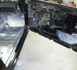 HushMat Ford Mustang 1969-1970   Floor Deadening and Insulation Kit 612691