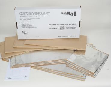HushMat Chevrolet Kingswood 1959-1960   Sound and Thermal Insulation Kit 65035