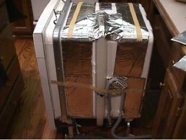 HushMat Universal Dishwasher Door Panel Noise Reducing Kit 712001