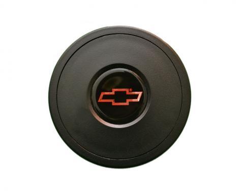 Volante S9 Series Horn Button Kit, Red Bowtie