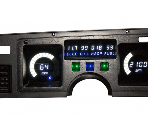 Intellitronix 1984-1989 Corvette LED Digital Gauge Panel DP2003