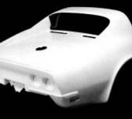 Corvette Rear End, Coupe 1 Piece, 1970-1973