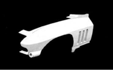 ACI Fiberglass 1963-1964 Chevrolet Corvette One-Third Front End Left YJF050