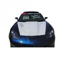 Corvette Violator Supercharge Hood, Carbon Fiber, 2005-2013