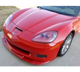 Corvette Front Splitter, Lower, In Colors, Z06/ZR1/Grand Sport, Arctic White, 2006-2013