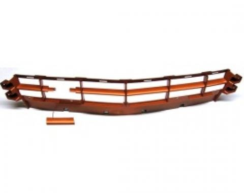 Corvette Grille, Front, Painted To Match, Inferno Orange, 2011-2013