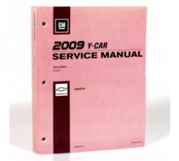 Corvette Service Manual, 2009