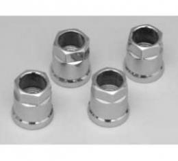 Corvette Tire Pressure Sensor Nuts, Chrome, 1997-2013