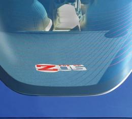 Corvette Rear Cargo Shade, With Embroidered C6 Z06 Logo, 2005-2013