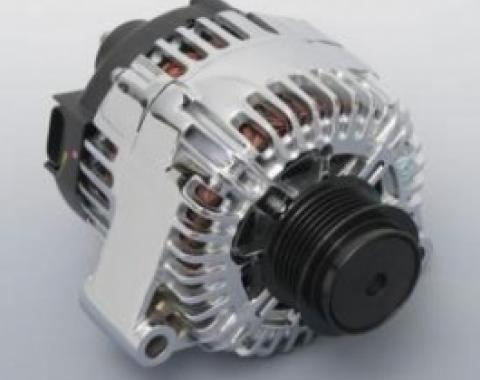 Corvette Chrome Alternator, 150 Amp, 2002-2013