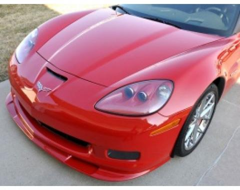 Corvette Front Splitter, Lower, In Colors, Z06/ZR1/Grand Sport, Machine SIlver, 2006-2008