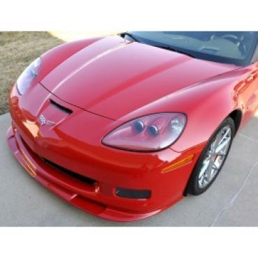 Corvette Front Splitter, Lower, In Colors, Z06/ZR1/Grand Sport, Jetstream Blue,  2008-2010