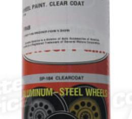 Corvette Wheel Paint, Clear Coat, 2005-2013