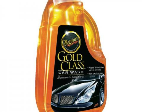 Corvette Gold Class Car Wash Shampoo & Conditioner, 64 Ounce
