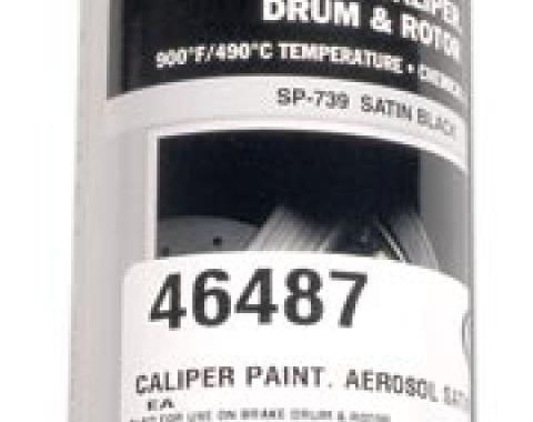 Corvette Caliper Paint, Aerosol Satin Black